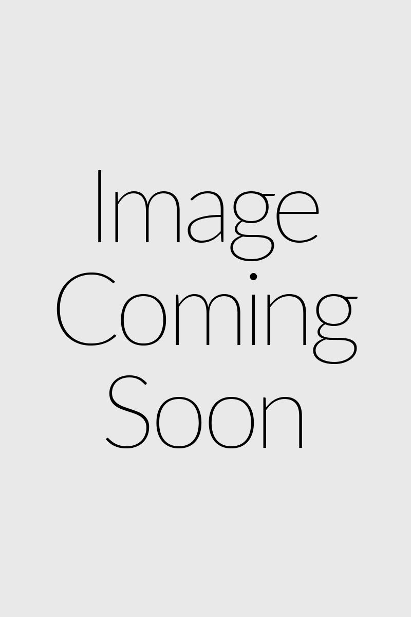 Robe patineuse à motif floral avec col haut et trou de serrure au dos